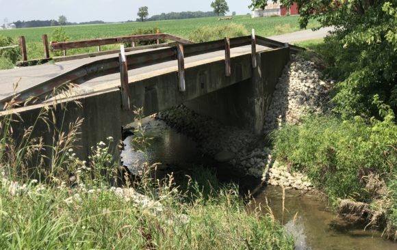 Bridge #269 - CR 1 over Fisher-Gordon Ditch